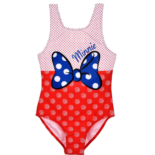 Costum baie cu fundita Minnie